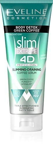 Eveline Cosmetics Slim Extreme 4D Body Detox Professional Intensely Slimming and Draining Coffee Serum (Best Green Tea For Weight Loss Uk)