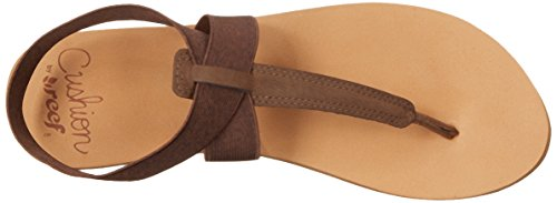 Cushion Reef Moon Femme Brown Marron Tongs 0ACqAdw
