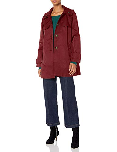 LONDON FOG Women's Button Front Topper Jacket