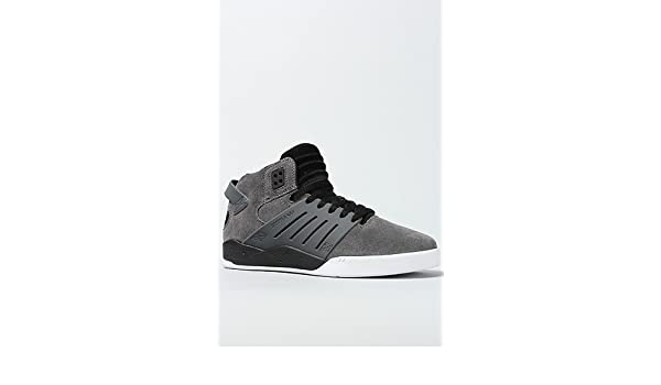 5aaeb62c796 Amazon.com | Supra Chad Muska Skytop III Skate Shoe - Men's Grey  Suede/Black/White, 12.0 | Fashion Sneakers