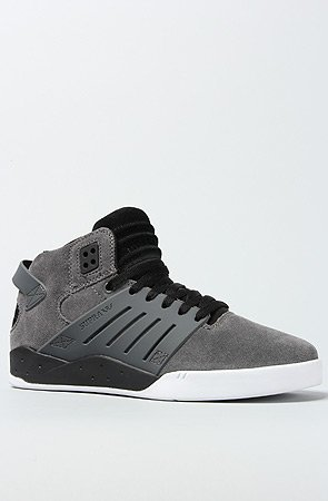 daf1b5a66664 Image Unavailable. Image not available for. Color  Supra Chad Muska Skytop  III Skate Shoe - Men s Grey Suede Black White