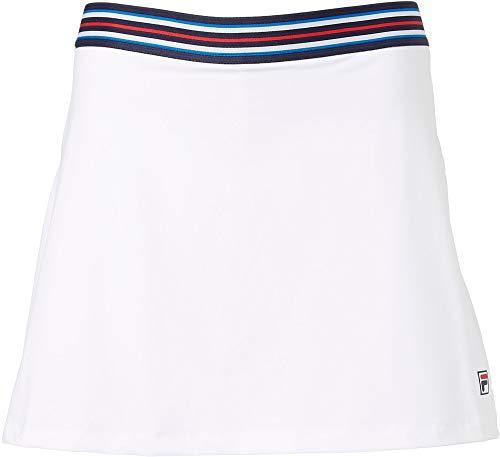 Fila Women`s A-Line 14.5 Inch Tennis Skort (Medium White - ()