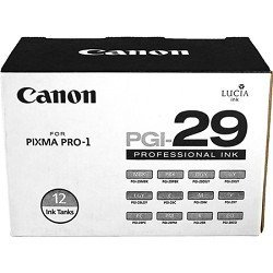 - Canon PGI-29 Color 12 Pack of Ink Tanks