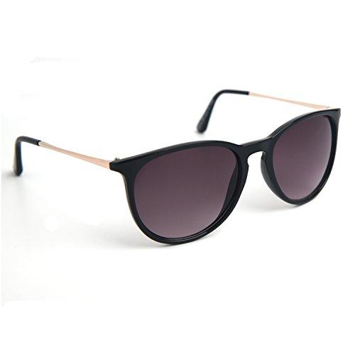 JOOX Women's Classic Round Plastic Sunglasses UV Protection Lens JX3589-425 -