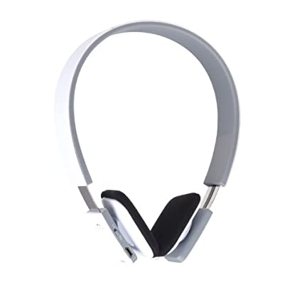 douself Stereo Bluetooth 3.0 Auriculares inalámbricos Auriculares para iPhone iPad Galaxy S4 S3 HTC LG Blanco