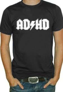 Adhd T-shirt (Mens Black)