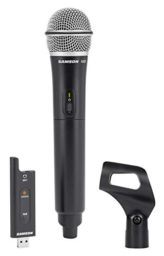 (SAMSON Stage XPD2 Handheld USB Wireless Podcast Podcasting Microphone+Mic Clip)