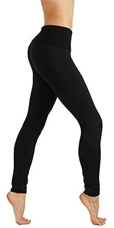 CodeFit Yoga Power Flex Dry-Fit Pants Workout Printed Leggings Ombte Print (Large/X-Large, 6cp06-Black)
