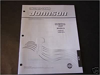 2003 johnson outboard motor 3. 5 hp model r owner operator manual.