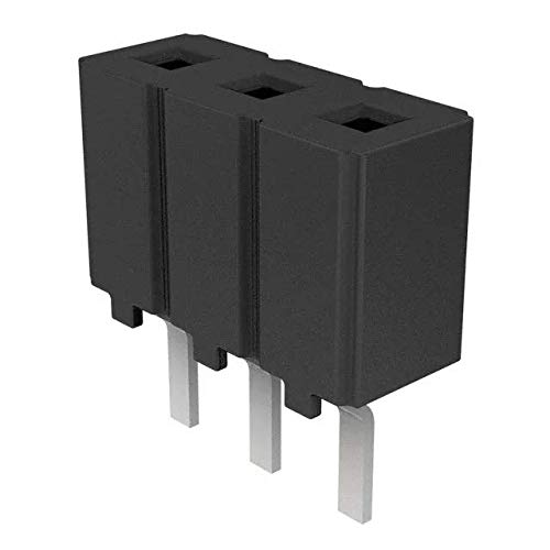 SAMTEC CES-103-01-S-S Socket 3-PIN SIP Female PC Mount Connector New QTY-1000