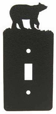 Bear Single Light Switch Plate Cover - Bear Single Switchplate