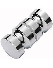 Aluminium Badkamer Douche Deur Handvatten Knoppen Deur Pull Handvatten Knop Vervanging voor Glazen Deuren