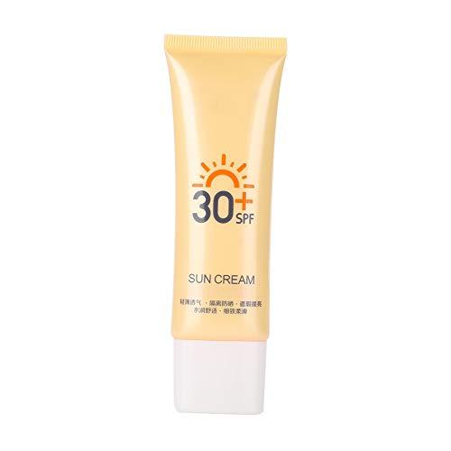 40g Crema de protección solar SPF30 + UV crema protectora de brillo protector solar