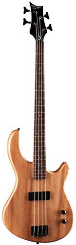 Dean E09M Edge Mahogany Electric Bass Guitar - Natural (Bass Natural Electric Guitar)