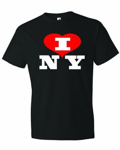 Men's I Love NY New York heart NYC Funny (Capitale Nyc Halloween)
