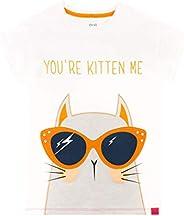 Harry Bear Girls T-Shirt Kitty Cat