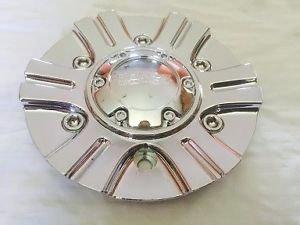 Akuza 702 Chrome Wheel Center Cap EMR702-CAR-CAP LG0608-04 NEW Car Rim - Chrome Rims Akuza