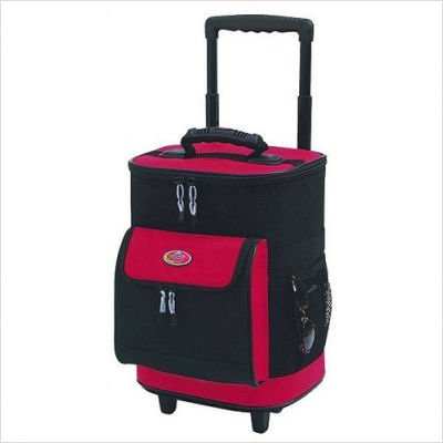 16-inch-single-section-rolling-cooler-red