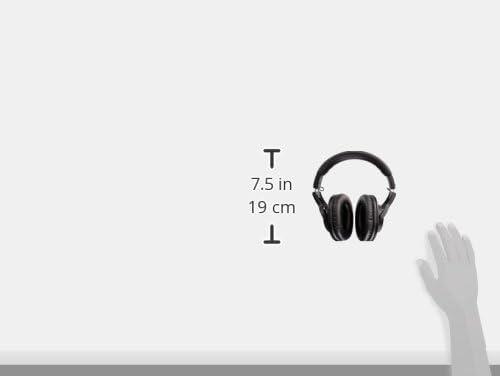 Audio-Technica ATH-M20x Professional Studio Monitor Headphones, Black 31FzFUvQ6qL