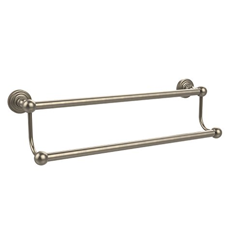 (Allied Brass WP-72/30-PEW Waverly Place Collection 30 Inch Double Towel Bar, Antique Pewter)