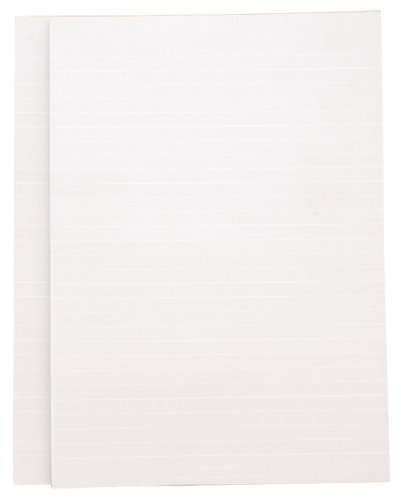 Whitelines Orange Glue A4 Lined Notepad (2 pack): Supporting your ideas