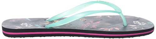 O'Neill Fw Printed Flip Flop - Chanclas Mujer Noir (White Aop)
