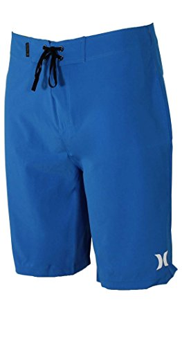 Hurley Men's Phantom One & Only 20'' Stretch Boardshorts Photo Blue 36 by Hurley