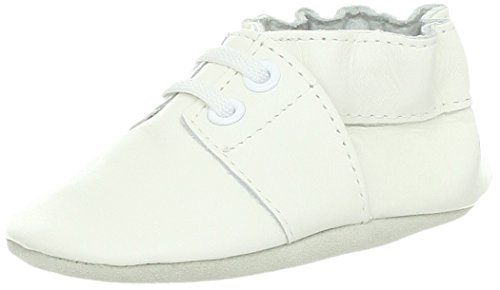 Robeez Special Occasion Soft Sole Slip-On (Infant),White,0-6 Months M US Infant