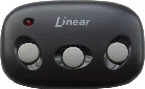 Linear Megacode MCT-3 3-Channel Visor Transmitter by LINEAR