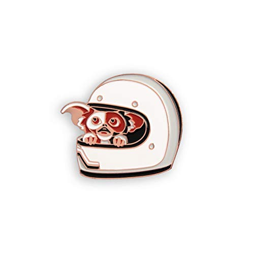 DKNG Gremlins: Uh Oh (Gizmo/Mogwai Hiding in Motorcycle Helmet Enamel Lapel Pin x ()
