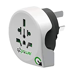 q2power World to Australia Travel Power Adaptor