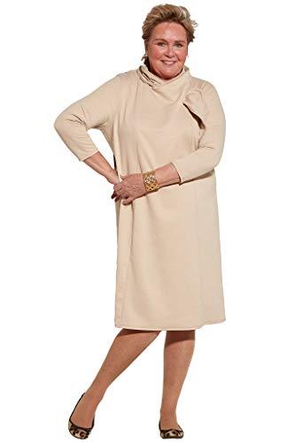 Ovidis Fashionable Dress - Beige   Meli   Adaptive Clothing - 2XL