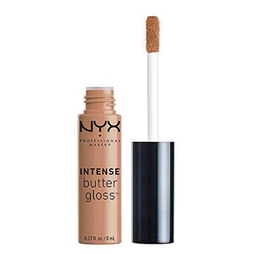 NYX PROFESSIONAL MAKEUP Intense Butter Gloss, Cookie Butter, 0.27 Fluid Ounce