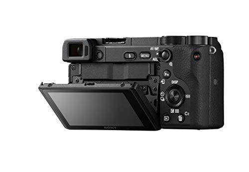 Sony Alpha Camera: Compact Lens Digital Real-Time Eye Auto 4K Video, Screen & 18-135mm E -