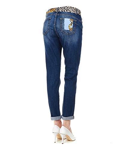 Azul U19047d314777625 Liu Mujer Jeans Algodon RgP8wxq8t