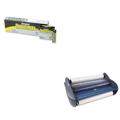 kiteveen91gbc1701720ez – Valueキット – GBC Pinnacle 27 EZload Roll Laminator ( gbc1701720ez )とEnergizer Industrialアルカリ電池( eveen91 )   B00MOOZMA8