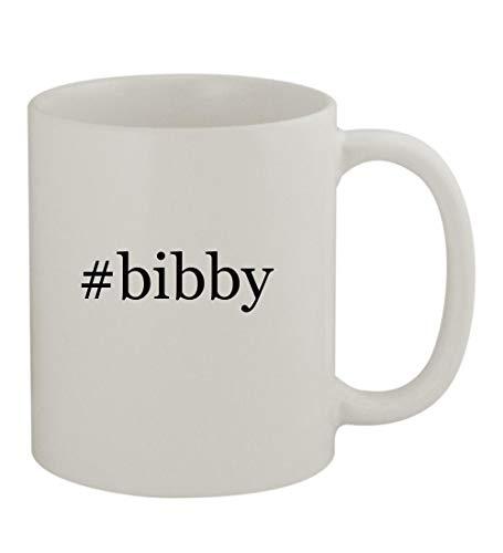 #bibby - 11oz Sturdy Hashtag Ceramic Coffee Cup Mug, White