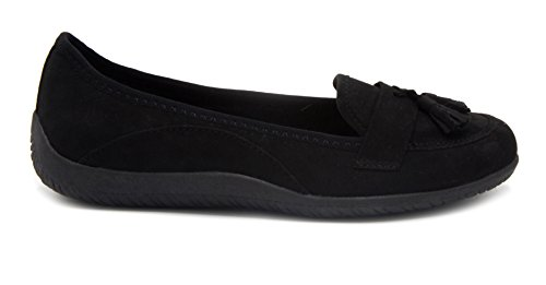 London Brouillard Womens Barbra Casual Chaussure Noir