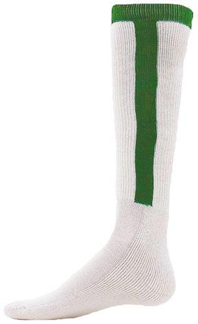 Knit-In Stirrup Cotton Baseball/Softball Tube Socks