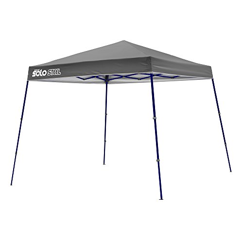Quik Shade Solo Steel 72 11'x11' Instant Canopy, Grey