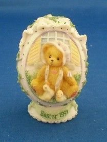 Cherished Teddies - Girl With Chicks - 1997 Easter Egg (Cherished Teddies Girl)