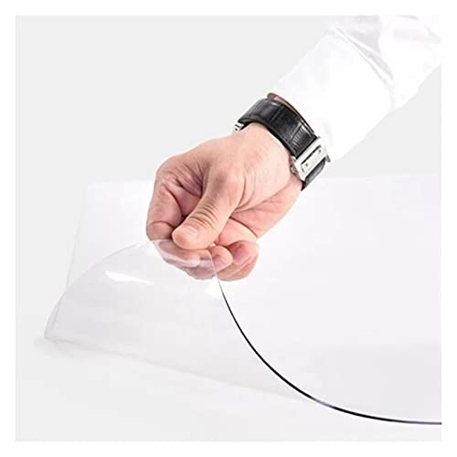 Transparant Tapijtbeschermer Non Slip Tapijt Stoel Mat Scherp Resistent Home Office Woonkamer Hall Slaapkamer Rechthoek…