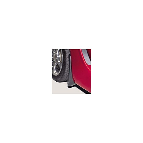 - Eckler's Premier Quality Products 25108680 Corvette Splash Guards Body Contoured Front Matte BlackAltec