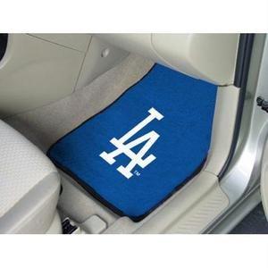 Fanmats Los Angeles Dodgers Carpet Car Mats - Los Angeles Dodgers One Size