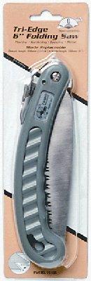 Fanno Folding Tri-Edge Saw, #FI-106 - FOLDING TRI-EDGE SAW (Tri Pruning Saw Edge)