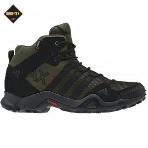 low priced 637ee a4191 Adidas Men s AX 2 Mid Gore-Tex Hiking Boots - Earth Green  Black  Earth  Green 10 - Buy Online in UAE.   Shoes Products in the UAE - See Prices, ...