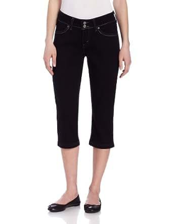 Levi's Women's 529 Styled Capri, Black Ink,4