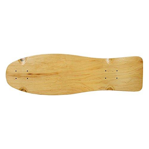 Moose Old School Skateboard Deck, Natural, 9