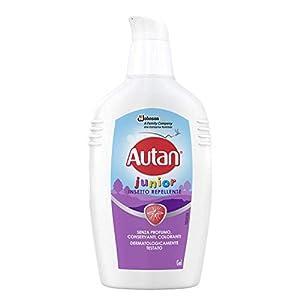 Autan Junior Gel, per Bambini oltre 2 Anni, Insetto Repellente e Antizanzare, 1 Confezione da 100 ml, Senza Profumo… 2 spesavip