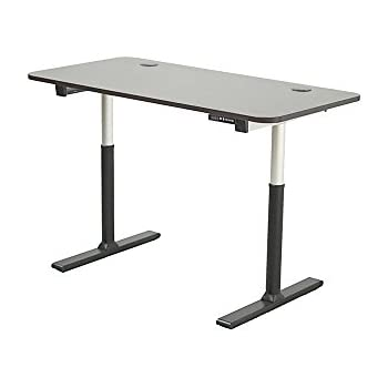 ApexDesk Vortex Series 60 In Wide 6 Button Electric Height Adjustable Sit  To Stand
